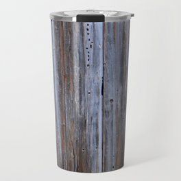Wood Plank Shutters Travel Mug