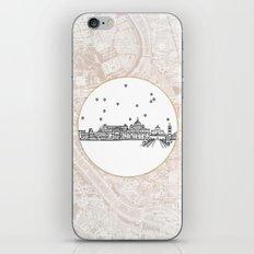 Roma (Rome), Italy, Europe City Skyline Illustration Drawing iPhone & iPod Skin