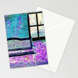 Resting bench Stationery Cards