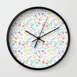 Rainbow Snog Party! Wall Clock