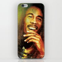 marley iPhone & iPod Skins featuring Marley by medal XD