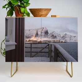 Morning in Lofoten Credenza