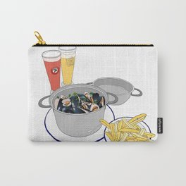 Mussels frm Brussels Carry-All Pouch