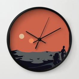 Visit Tatooine Wall Clock