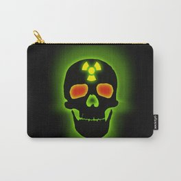 TOXIC SKULL Carry-All Pouch