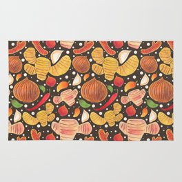 Indonesia Spices Rug