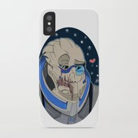 garrus iPhone & iPod Cases featuring Garrus Vakarian by ArtisticCole