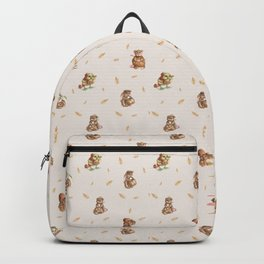 Cute French Bakery Backpack
