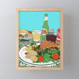 Scottish Beef Steak & Guinness Pie Framed Mini Art Print