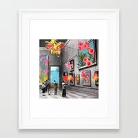history Framed Art Prints featuring Natural History Museum by Eugenia Loli