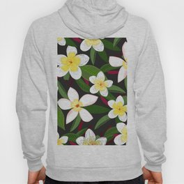 Botanical Flowers Colorful Pattern Hoody