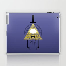 The beast with just one eye Laptop & iPad Skin