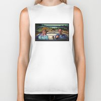 law Biker Tanks featuring The Law by Brittany W-Smith