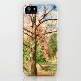 Mote Park iPhone Case