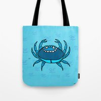 cancer Tote Bags featuring Cancer by Giuseppe Lentini