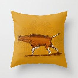 Man's Best Friend Throw Pillow
