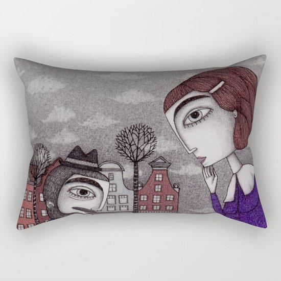 The Story Teller Rectangular Pillow