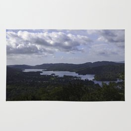 Lake Windermere, View from Orrest Head - Landscape Photography Rug
