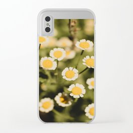 Little bits of sunshine Clear iPhone Case