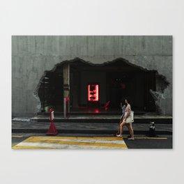 Crumble Canvas Print