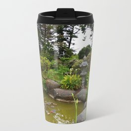 Japanese Garden Lantern Travel Mug