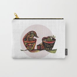 Two Bowls Carry-All Pouch