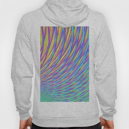 Rainbow Weave Hoody