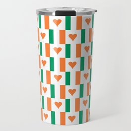 flag of ireland 13 -ireland,eire,airlann,irish,gaelic,eriu,celtic,dublin,belfast,joyce,beckett Travel Mug