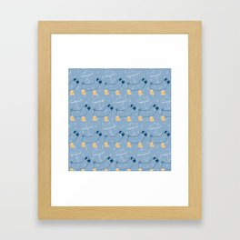 Rainy Day Rolls Framed Art Print