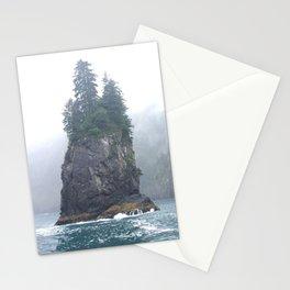 Alaskan Fjords Pillar - 1 Stationery Cards