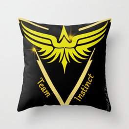 Instinct Team - Show Your Pride Throw Pillow