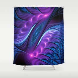 design on black -103- Shower Curtain