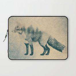 Fox and Forest - Shrinking Forest Laptop Sleeve