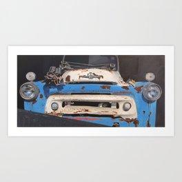 International Tow Truck Art Print