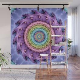 Wheels within wheels and rings inside rings Wall Mural