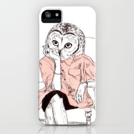 Bestial lonely lady iPhone Case