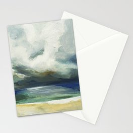 Stormy Sea  Stationery Cards