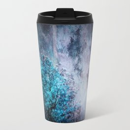 My Dreams Are Coming True : Turquoise & Lavender Travel Mug