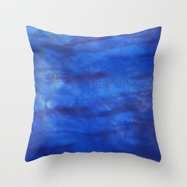 New car abstract watercolor Throw Pillow