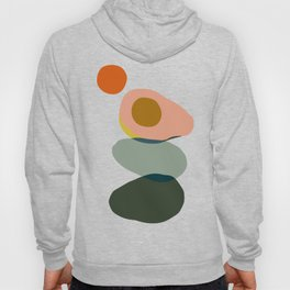 Abstract Avocado Hoody