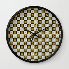Money is playing global ... Wall Clock