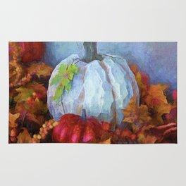 Happy Thanksgiving - Seasonal Art Rug