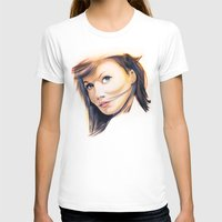 tupac T-shirts featuring Ginger Spice (Geri Halliwell) Rapper Tee! by Eric Terino