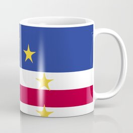 Cape Verde flag emblem Coffee Mug