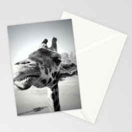 Giraffe Lunchtime Stationery Cards