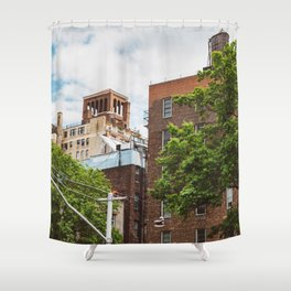 Shoes on the Line Shower Curtain
