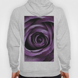 Purple Rose Decorative Flower Hoody