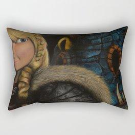 Astrid & Stormfly Rectangular Pillow