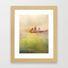 the dreams we share Framed Art Print
