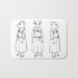 Character design for Eun Ae Bath Mat